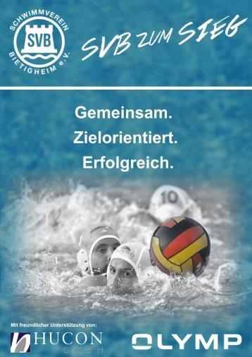 Schwimmverein Bietigheim e.V. - Wasserball Broschüre 2017
