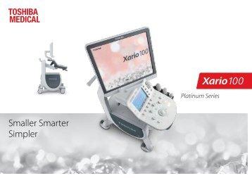 US Toshiba Xario 100 Platinum
