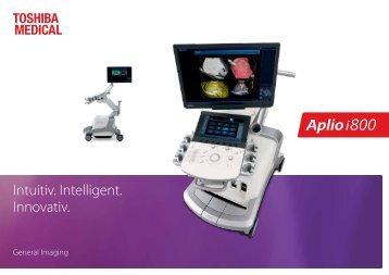 US Toshiba Aplio i800 General Imaging