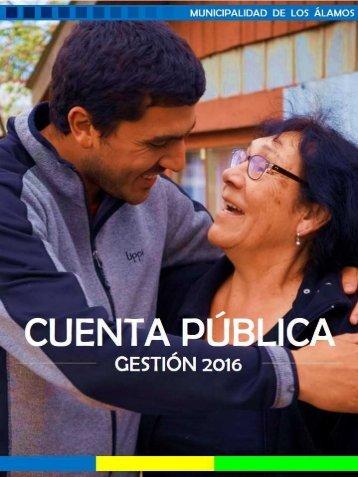 Cuenta Pública - Gestión 2016
