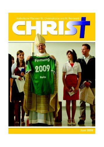 1. Juli 2009 - Dekanat Wolfsburg Gifhorn Helmstedt