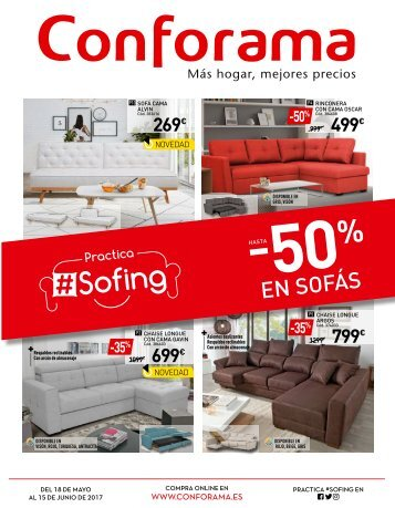Conforama especial-#sofing