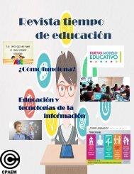 Revista tiempo de educación