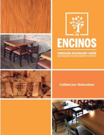 ENCINOS CATALOGO MAYO 2017