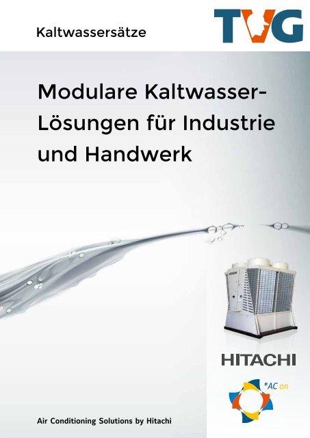 TVG - Kaltwassersätze und Kaltwasserlösungen - Lösungen für Industrie und Handwerk
