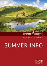 Summer Info 2017
