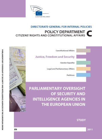 Parliamentary Oversight of Security and Intelligence ... - Europa