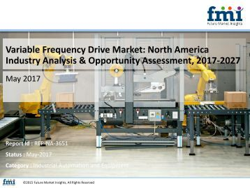 North America Variable Frequency Drive Market Poised to Rake US$ 7.79 Bn by 2027