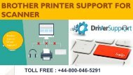 +44-800-046-5291 Brother Scanner Technical support number