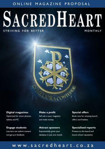 Magazine Proposal Sacred Heart College