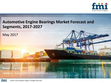 Automotive Engine Bearings Market