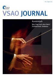 VSAO JOURNAL Nr. 4 - August 2012