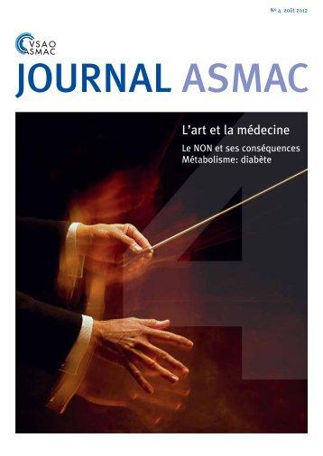 Journal ASMAC No 4 - Août 2012
