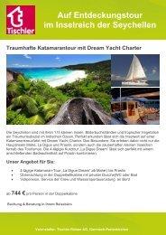 Seychellen:Traumhafte Katamarantour mit Dream Yacht Charter