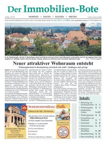 Immobilienbote 2 2017 (Cottbus und Spree & Neiße)
