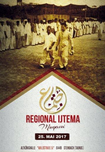 Regional Ijtema Muqami - Broschüre