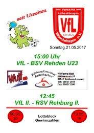 VfL gegen BSV Rehden U23