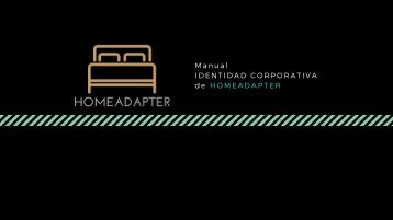 HOMEADAPTER - Manual de marca