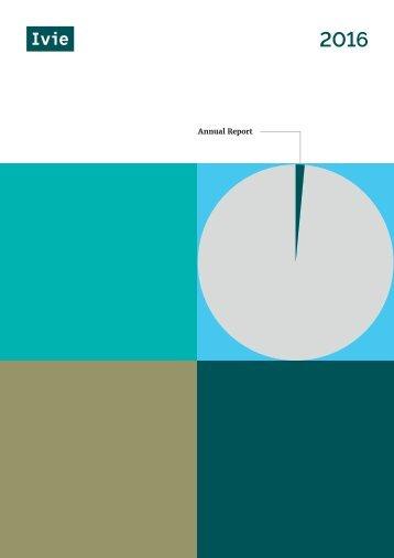 Ivie Annual Report 2016