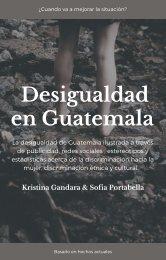 Desigualdad en Guatemala
