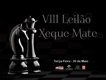 LEILAO XEQUE MATE 2017