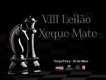 LEILAO XEQUE MATE 2017