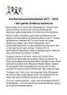 Folder Konfirmationsforberedelse 2017-2018 Gl. Vinerup side - Page 2