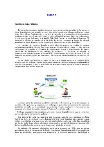 CURSO DE COMERCIO ELECTRONICO