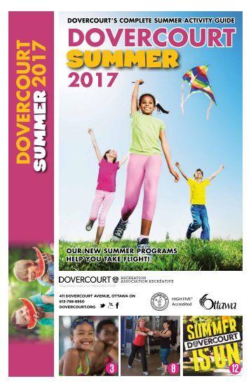DOVERCOURT SUMMER 2017 insert