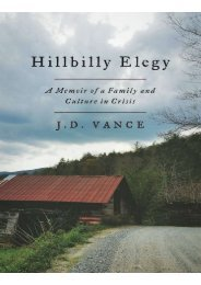 Preview Hillbilly Elegy A Memoir of a Family and Culture in Crisis by  J D Vance