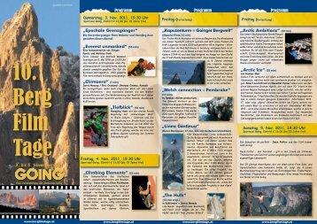 55 min - Bergfilmtage Going - Wilder Kaiser