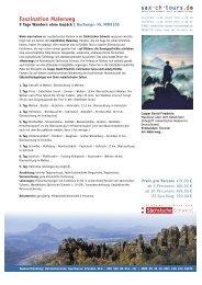 Faszination Malerweg - Sächsische Schweiz Tours