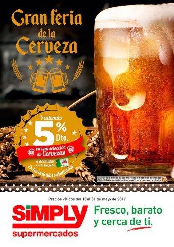 Simply Gran Feria de la Cerveza del 17 al 31 de Mayo 2017