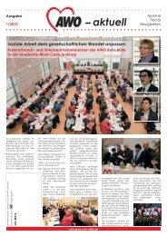 aktuell (Ausgabe 1/2012) - AWO Ruhr-Mitte