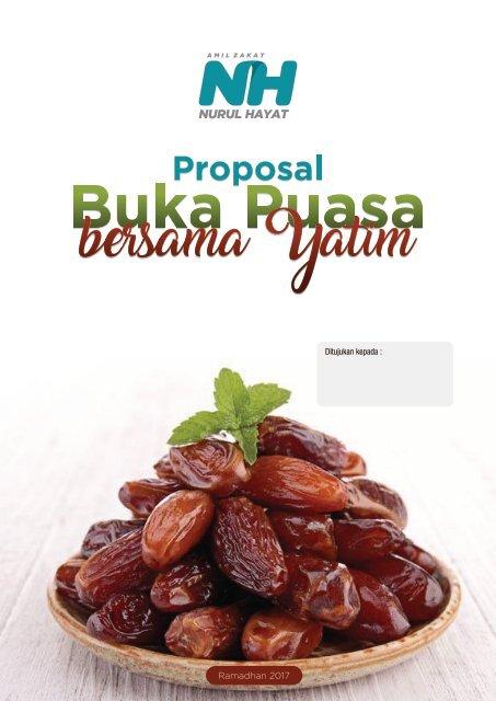 Contoh Proposal Buka Puasa Bersama Yatim