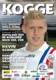 Erhältlich im FC Hansa Fanshop, (Rostock, Breite Straße) unter der ...