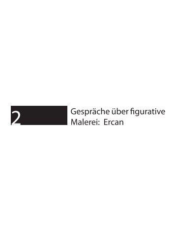 Gespräche über figurative Malerei: Ercan - Alex Winiger :: Intro