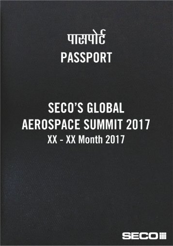 Aerospace Summit Passport Invite