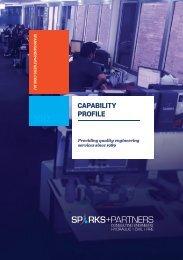 SPARKS+PARTNERS Capability Profile: 2017