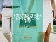 7 Strategies For A Long and Healthy Life