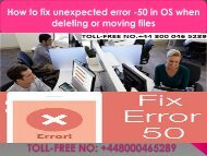 +448000465289 How to fix unexpected error -50 in Mac OS