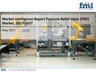 Pressure Relief Valve (PRV) Market