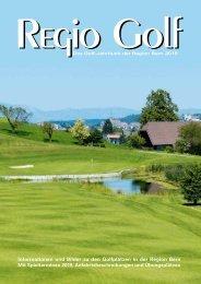 Magazin Regio Golf Bern 2019