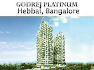 Godrej Platinum in Bangalore by Godrej Properties - Call: (+91) 7289089451