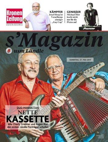 s'Magazin usm Ländle, 21. Mai 2017