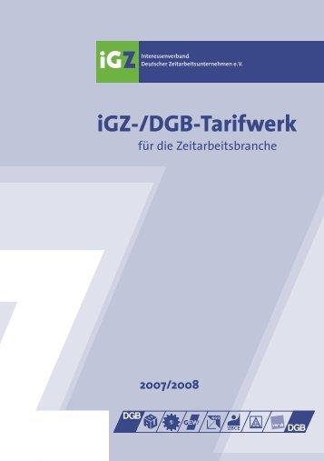 Tarifwerk 2007-2008