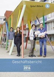 Spital Bülach - Geschäftsbericht 2016