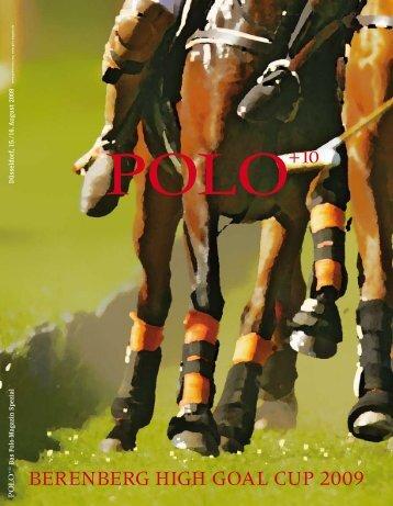 BerenBerg HIgH gOAL CUP 2009 - Polo+10 Das Polo-Magazin