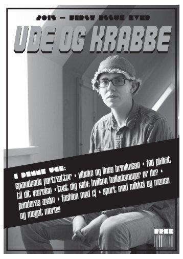 UDE OG KRABBE issue #1