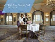 SPG Pro Global Call January 2017
